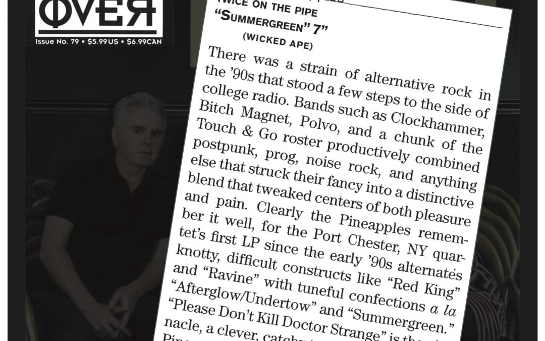 TWICE ON THE PIPE reviewed in the latest issue of The Big Takeover!!!